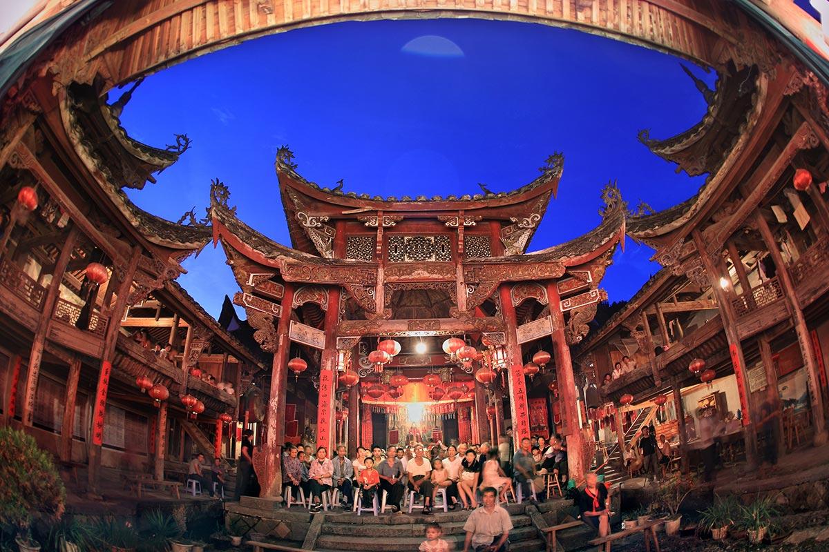 菇神庙西洋殿